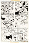 Original Comic Art, Joe Staton and Murphy Anderson Superboy and the Legion of Super-Heroes #246 Story Page 2 Original Art (DC, 1978)....