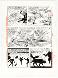 Original Comic Art, Carmine Infantino and Murphy Anderson Kellogg's Pop-Tarts Comics: Catwoman's Catnapping Caper! Story Pages 15 and ... (Total: 2 Original Art)
