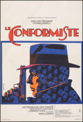 """Movie Posters:Foreign, The Conformist (CIC, 1971). Very Fine on Linen. French Petite (15"""" X 23"""") Piero Ermanno Iaia Artwork. Foreign.. ..."""