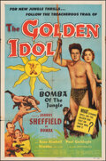 "Movie Posters:Adventure, The Golden Idol (Allied Artists, 1954). Folded, Fine/Very Fine. One Sheet (27"" X 41""). Adventure.. ..."