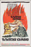"Movie Posters:Fantasy, The Witch's Curse (Medallion, 1963). Folded, Very Fine/Near Mint. One Sheet (27"" X 41""). Fantasy.. ..."
