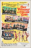 """Movie Posters:Comedy, Get Yourself a College Girl (MGM, 1964). Folded, Very Fine+. One Sheet (27"""" X 41""""). Comedy.. ..."""