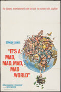 "Movie Posters:Comedy, It's a Mad, Mad, Mad, Mad World (United Artists, 1963). Folded, Fine+. One Sheet (27"" X 41"") Style A, Jack Davis Artwork, & ... (Total: 2 Items)"