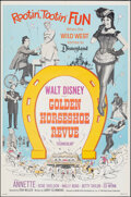 """Movie Posters:Musical, The Golden Horseshoe Revue (Buena Vista, 1964). Folded, Very Fine+. One Sheet (27"""" X 41""""). Musical.. ..."""