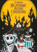 """Movie Posters:Animation, The Nightmare Before Christmas (Touchstone, 1993). Rolled, Very Fine. German A0 (33"""" X 47"""") SS. Animation.. ..."""
