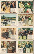 """Movie Posters:Drama, The Quiet Man (Republic, 1952). Overall: Fine. British Front of House Color Photo Set of 8 (8"""" X 10""""). Drama.. ... (Total: 8 Items)"""