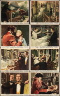 """Movie Posters:Horror, The Revenge of Frankenstein (Columbia, 1958). Overall: Fine. British Front of House Color Photo Set of 8 (8"""" X 10""""). Horror.... (Total: 8 Items)"""
