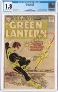 Silver Age (1956-1969):Superhero, Showcase #22 Green Lantern (DC, 1959) CGC GD- 1.8 Cream to off-white pages....