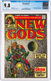 The New Gods #1 (DC, 1971) CGC NM/MT 9.8 White pages