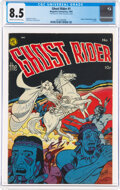 Golden Age (1938-1955):Western, Ghost Rider #1 (Magazine Enterprises, 1950) CGC VF+ 8.5 Cream to off-white pages....