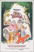 """Movie Posters:Animation, The Fox and the Hound & Other Lot (Buena Vista, 1981). Folded, Very Fine-. One Sheets (2) (27"""" X 41"""") Paul Wenzel Artwork. A... (Total: 2 Items)"""