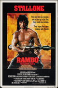 "Movie Posters:Action, Rambo: First Blood Part II & Other Lot (Tri-Star, 1985). Folded, Overall: Fine+. One Sheets (2) (27"" X 41""). Action.. ... (Total: 2 Items)"