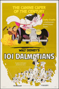 """Movie Posters:Animation, 101 Dalmatians & Other Lot (Buena Vista, R-1979). Folded, Overall: Very Fine. One Sheets (2) (27"""" X 41""""). Animation.. ... (Total: 2 Items)"""