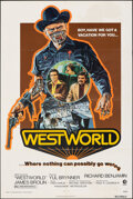 """Movie Posters:Science Fiction, Westworld (MGM, 1973). Folded, Fine+. One Sheet (27"""" X 41"""") Style A, Neal Adams Artwork. Science Fiction.. ..."""