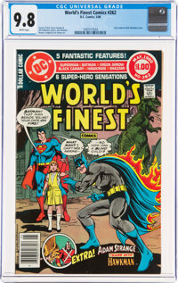 World's Finest Comics #262 (DC, 1980) CGC NM/MT 9.8 White pages