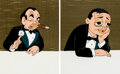 Animation Art:Limited Edition Cel, Edward G. Robinson and Peter Lorre Custom Cels Group of 2 (Warner Brothers, 2009).... (Total: 2 Items)