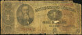 Large Size:Treasury Notes, Fr. 347 $1 1890 Treasury Note Very Good-Fine.. ...