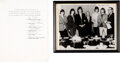 Music Memorabilia:Autographs and Signed Items, The Rolling Stones Signed Contract With Framed Band Photo (1965)....