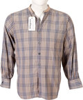 Movie/TV Memorabilia:Costumes, Steve McQueen Owned Western Shirt....
