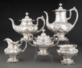 Silver & Vertu, A Five-Piece Reed & Barton Francis I Pattern Silver Tea and Coffee Service, Taunton, Massachusetts, 1951-1952. M... (Total: 5 )