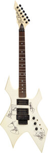 Musical Instruments:Electric Guitars, Kiss Signed Paul Stanley Stage-play BC Rich NJ Electric Gu...