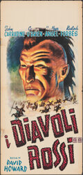 "Movie Posters:Adventure, Daniel Boone (RKO, R-1950s). Folded, Very Fine-. Italian Locandina (13"" X 27.5""). Adventure.. ..."