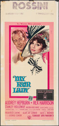 "Movie Posters:Musical, My Fair Lady (Warner Bros., 1964). Folded, Fine+. Italian Locandina (13"" X 28"") Giuliano Nistri Artwork. Musical.. ..."