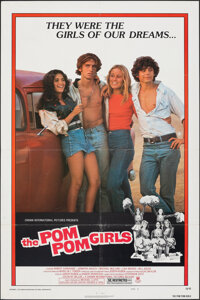 """The Pom Pom Girls & Other Lot (Crown International, 1976). Folded, Overall: Fine/Very Fine. One Sheets (2) (27""""..."""