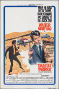 "Movie Posters:Crime, Charley Varrick & Other Lot (Universal, 1973). Folded, Fine/Very Fine. One Sheets (2) (27"" X 41""). Crime.. ... (Total: 2 Items)"