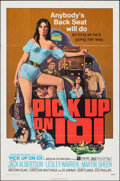 """Movie Posters:Bad Girl, Pick Up on 101 & Other Lot (American International, 1972). Folded, Overall: Fine/Very Fine. One Sheets (2) (27"""" X 41""""). Bad ... (Total: 2 Items)"""