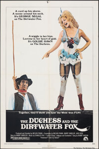 """The Duchess and the Dirtwater Fox & other Lot (20th Century Fox, 1976). Fine/Very Fine. One Sheets (2) (27"""" X 4..."""
