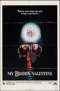 "Movie Posters:Horror, My Bloody Valentine & Other Lot (Paramount, 1981). Folded, Fine/Very Fine. One Sheets (2) (27"" X 41""). Horror.. ... (Total: 2 Items)"