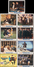 """Movie Posters:Comedy, Blackbeard's Ghost & Other Lot (Buena Vista, 1968). Very Fine+. Lobby Card Set of 9 & Lobby Card Set of 8 (11"""" X 14""""). Comed... (Total: 17 Items)"""
