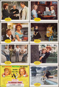"""Movie Posters:Comedy, The Parent Trap (Buena Vista, R-1968). Overall Very Fine-. Lobby Card Set of 8 (11"""" X 14"""") Paul Wenzel Artwork. Comedy.. ... (Total: 8 Items)"""