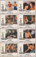"""Movie Posters:Western, Nevada Smith (Paramount, 1966). Overall: Very Fine. Lobby Card Set of 8 (11"""" X 14""""). Western.. ... (Total: 8 Items)"""
