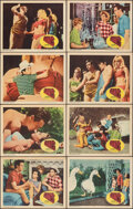"""Movie Posters:Science Fiction, Village of the Giants (Embassy, 1965). Fine/Very Fine. Lobby Card Set of 8 (11"""" X 14""""). Science Fiction.. ... (Total: 8 Items)"""