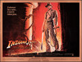 "Movie Posters:Adventure, Indiana Jones and the Temple of Doom (Paramount, 1984). Folded, Very Fine. New York Subway (45"" X 59.5"") Bruce Wolf Artwork...."