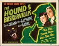 Movie Posters:Mystery, The Hound of the Baskervilles (20th Century Fox, 1939). Ne...