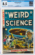 Golden Age (1938-1955):Science Fiction, Weird Science #16 (EC, 1952) CGC VF+ 8.5 Off-white pages....
