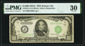 Small Size:Federal Reserve Notes, Fr. 2212-J $1,000 1934A Federal Reserve Note. PMG Very Fin...