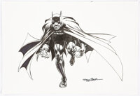 Neal Adams - Batman Illustration Original Art (2020)