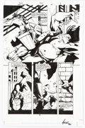 Original Comic Art, Phil Hester and Ande Park Green Arrow #28 Story Page 3 Original Art (DC, 2003)....