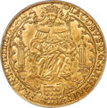 Great Britain, Great Britain: James I gold Rose Ryal ND (1605-1606) MS62 PCGS,...