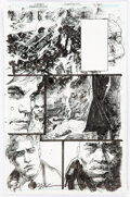 Original Comic Art, Denys Cowan and Bill Sienkiewicz Deathstroke #11 Story Page 11 Original Art (DC, 2017).