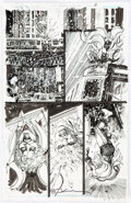 Original Comic Art, Denys Cowan and Bill Sienkiewicz Deathstroke #11 Story Page 18 Original Art (DC, 2017).