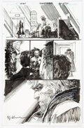 Original Comic Art, Denys Cowan and Bill Sienkiewicz Deathstroke #11 Story Page 20 Original Art (DC, 2017).