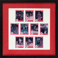 Basketball Cards:Singles (1980-Now), 1986 Michael Jordan Signed Star Cards Lot of 10....