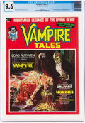 Magazines:Horror, Vampire Tales #1 (Marvel, 1973) CGC NM+ 9.6 White pages....