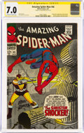 Silver Age (1956-1969):Superhero, The Amazing Spider-Man #46 Signature Series (Marvel, 1967) CGC FN/VF 7.0 Off-white to white pages....