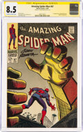 Silver Age (1956-1969):Superhero, The Amazing Spider-Man #67 (Marvel, 1968) CGC Signature Series VF+ 8.5 Off-white to white pages....